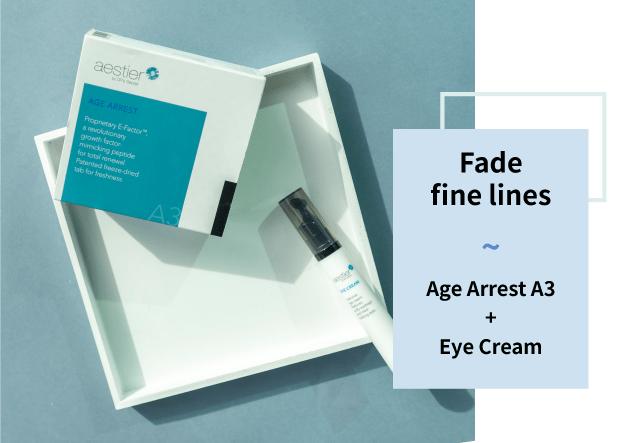 Age Arrest A3 and Eye Cream