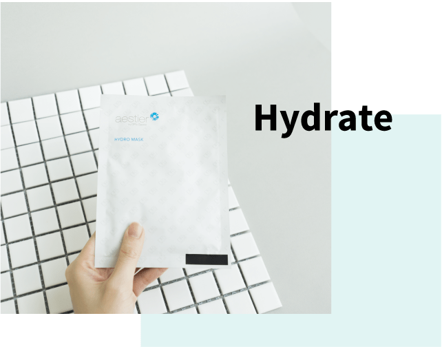 Hydrate with masks