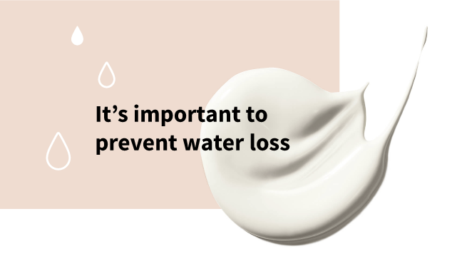 Important to prevent water loss
