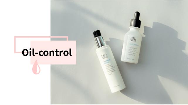 Skin oil control
