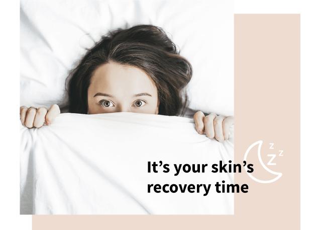 Skin repairs itself while you sleep