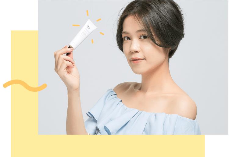 DR's Secret Sunscreen brighter skin tone