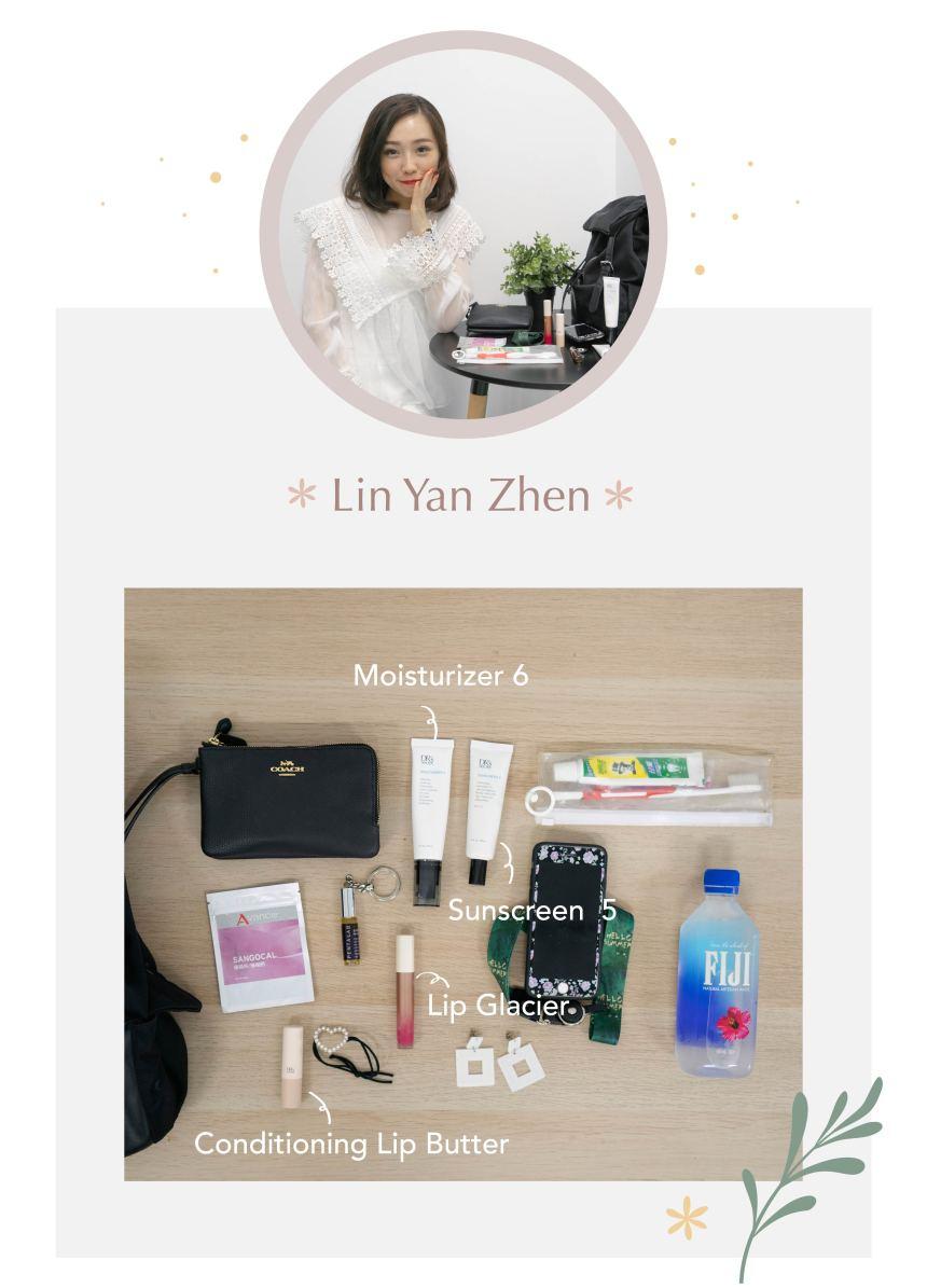 Yan Zhen's bag