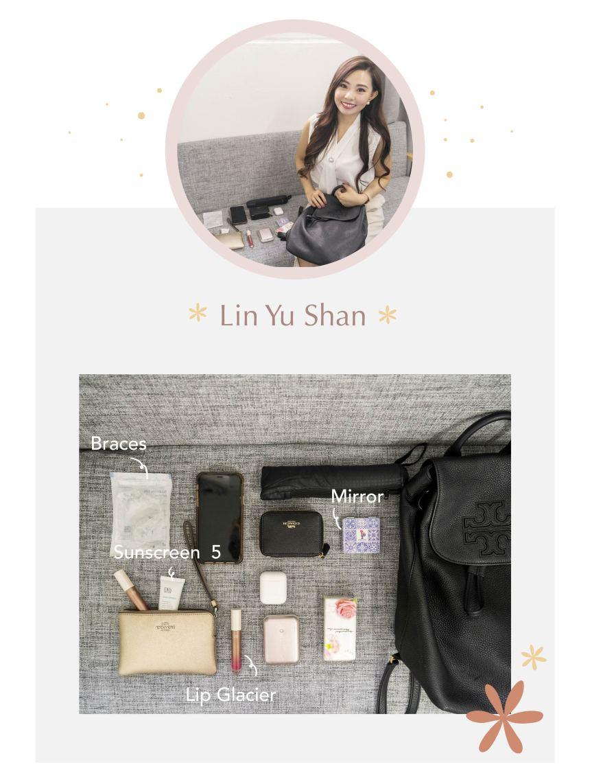 Yu Shan's bag