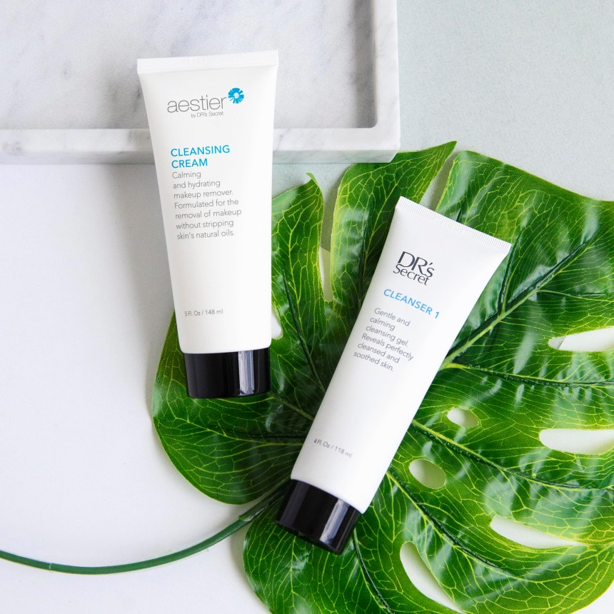cleanser 1 & cleansing cream a1