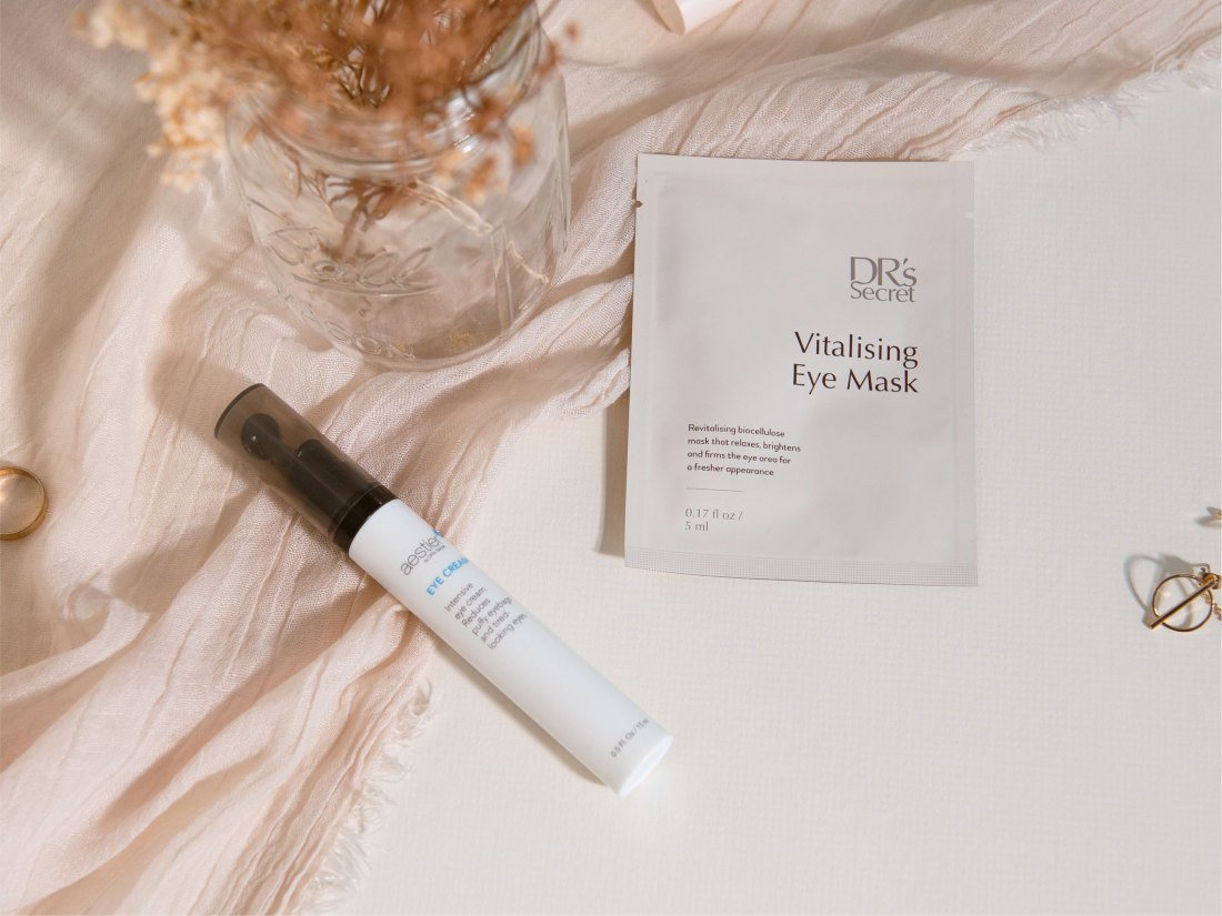tackle dark circles, fine lines and eye bags with drs secret