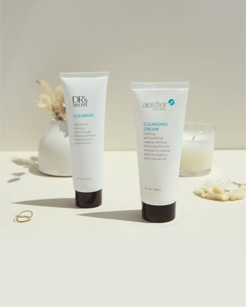 1. Cleansing Cream A1 + Cleanser 1