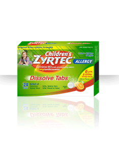 Children   zyrtec dissolve tabs cetirizine hydrochloride mg also dosage charts for infants and rh drugs