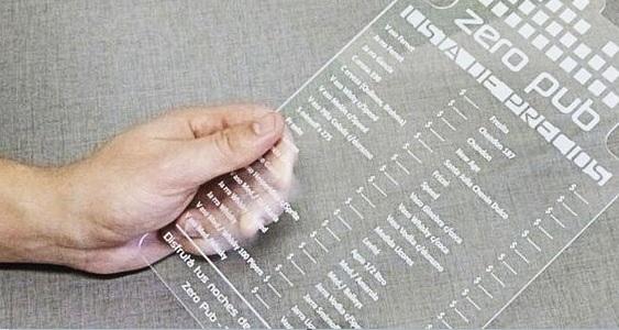 menukaarten drukken