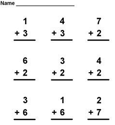 Boring Math Drills Aid Higher Math Skills