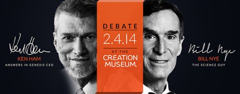On February 4th at the Creation Museum in Kentucky, Ken Ham and Bill Nye debated the question, Is creation a viable model of origins?
