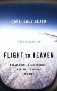 This book was written by a Captain Dale Black, who survived a plane crash as a teenager.