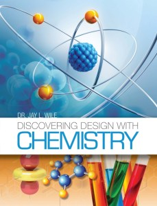 The cover for Discovering Design with Chemistry.