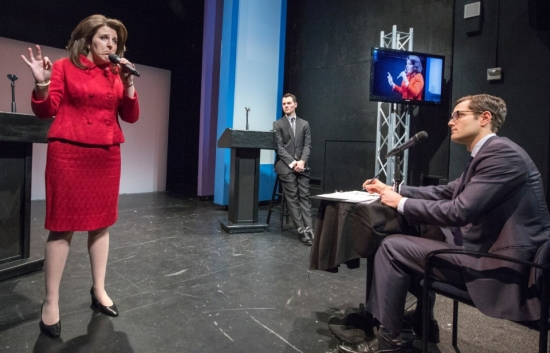 A scene from Her Opponent (Photo by  Richard Termine)