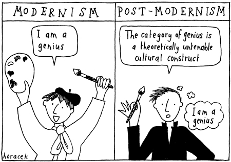 An Excellent Observation about Postmodernism