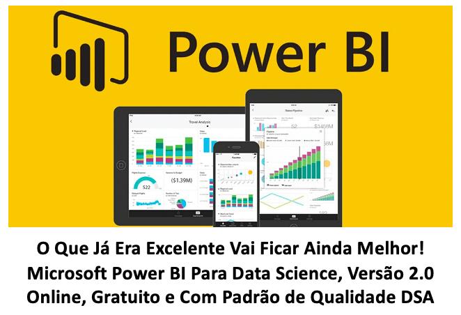 Microsoft Power BI Para Data Science Versao 2