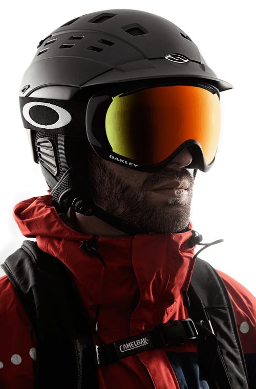 Smith Variant Brim & Oakley Canopy Goggle
