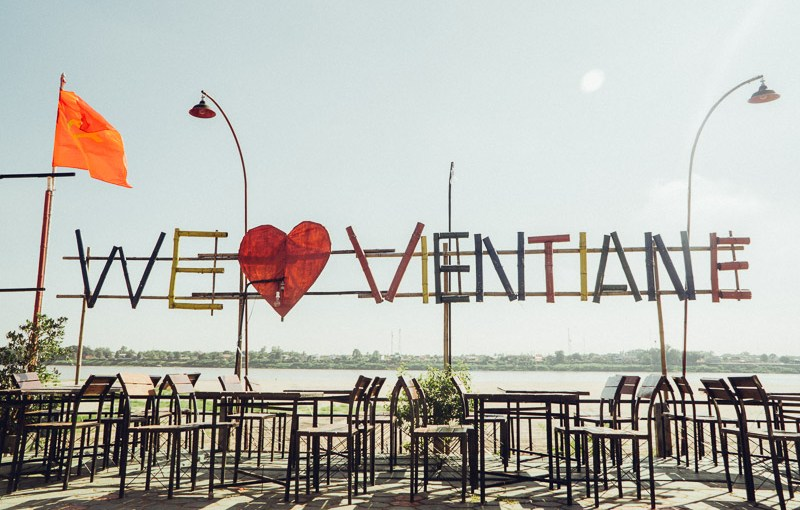 A day in Vientiane, Laos