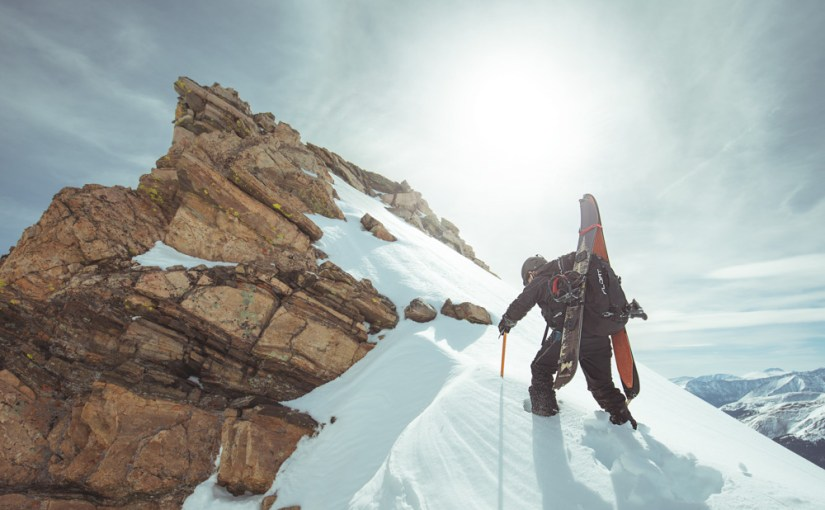 Spring Skiing: Citadel Peak