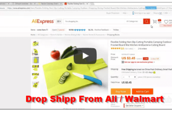 dropshipping from ali walmart