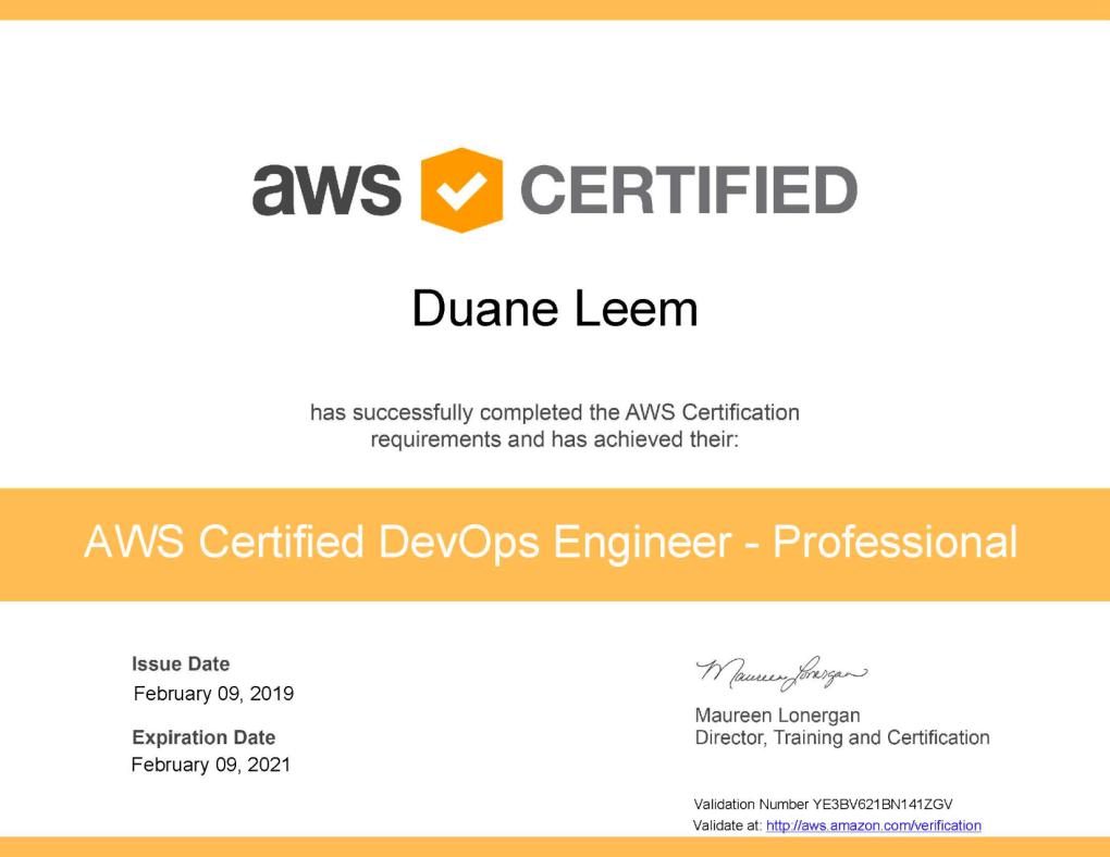 Aws Certified Devops Engineer Professional The Perpetual