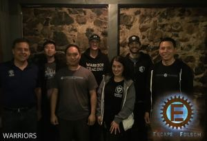 Escape Folsom on 2019-03-27