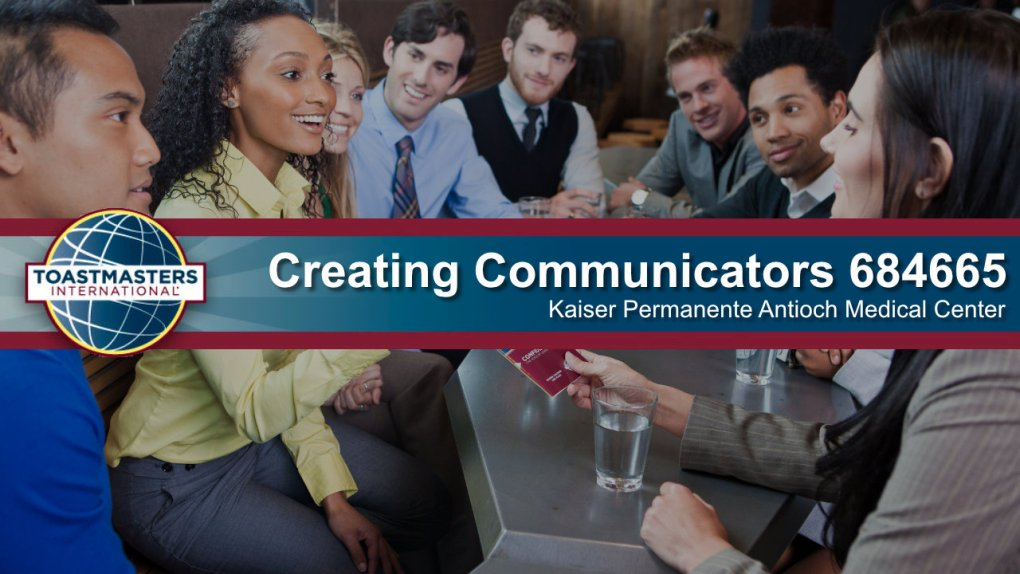 Toastmasters Creating Communicators 684665
