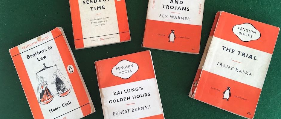 Classic Penguin Paperbacks (detail)