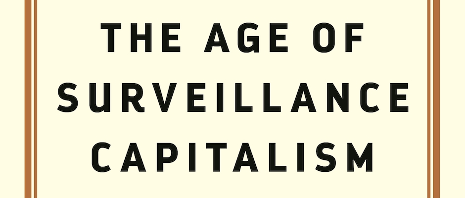 The Age of Surveillance Capitalism, by Shoshana Zuboff (detail)