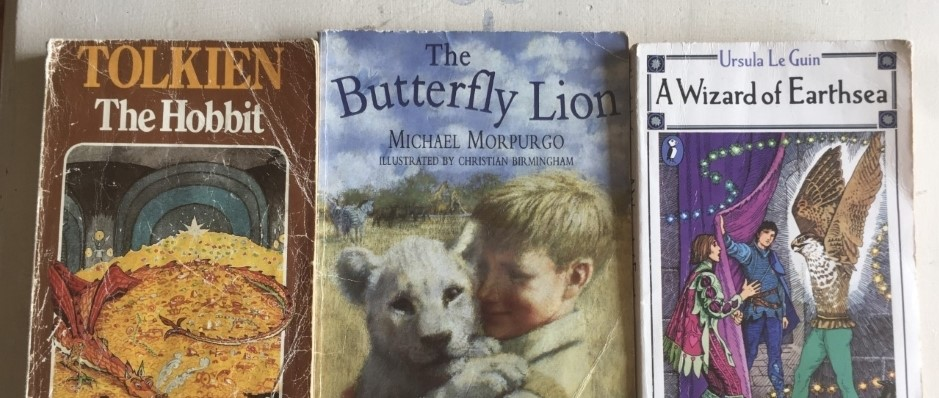 The Hobbit, The Butterfly Lion and Earthsea