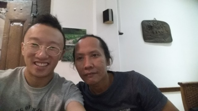 Me with Putu Wirantawan