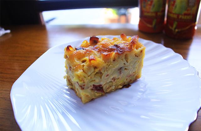 Makaroni skotel o'delice via duniamasak