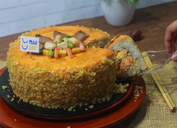 MAUDON Mentai Cake dok. duniamasak