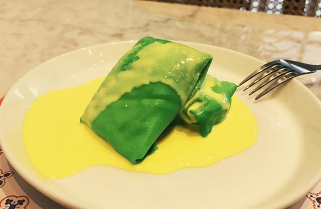 Durian Pancake Restoran Rantang Malaka dok. Duniamasak