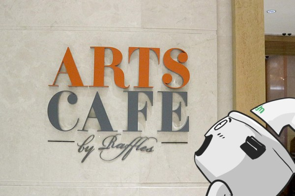 Arts Cafe by Raffles via dok. DuniaMasak.com