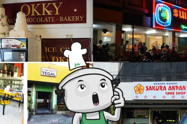 Toko Roti Legendaris di Jakarta via DuniaMasak.com