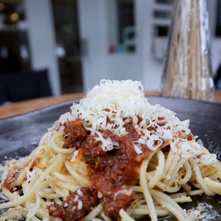 Spaghetti Tek Tek via dok. Dunia Masak