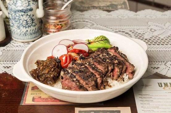Indo Spice Steak Bottega Ristorante via instagram.com/bottegaristorante ala tim duniamasak