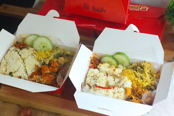 Nasi Kotak Kotak dok. duniamasak.com