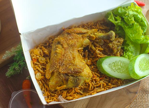 Nasi kabsah ayam timur tengah Al-Zhaf Kitchen dok. duniamasak.com