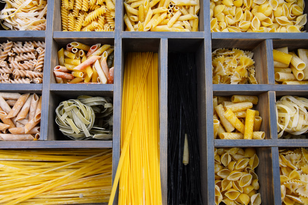 Perbedaan Mie dan Pasta via freepik ala tim duniamasak