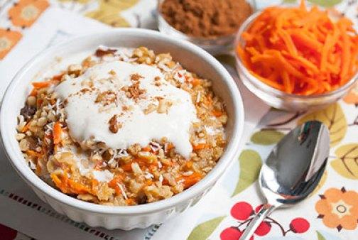 Resep MPASI Oats oatmeal carrot cake via veggie-quest.com ala tim duniamasak.com