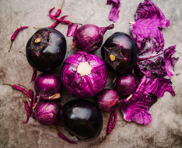 Sayuran Berwarna Ungu via freepik ala tim duniamasak.com