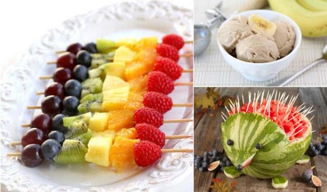 Hidangan sehat pengganti kue untuk anak via pinterest.com