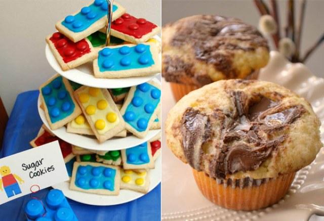 Kue untuk Anak: Lego via pinterest.com