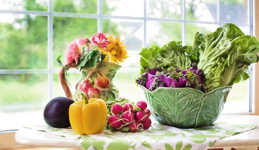 Warna Sayuran Trend 2018 via pexels.com