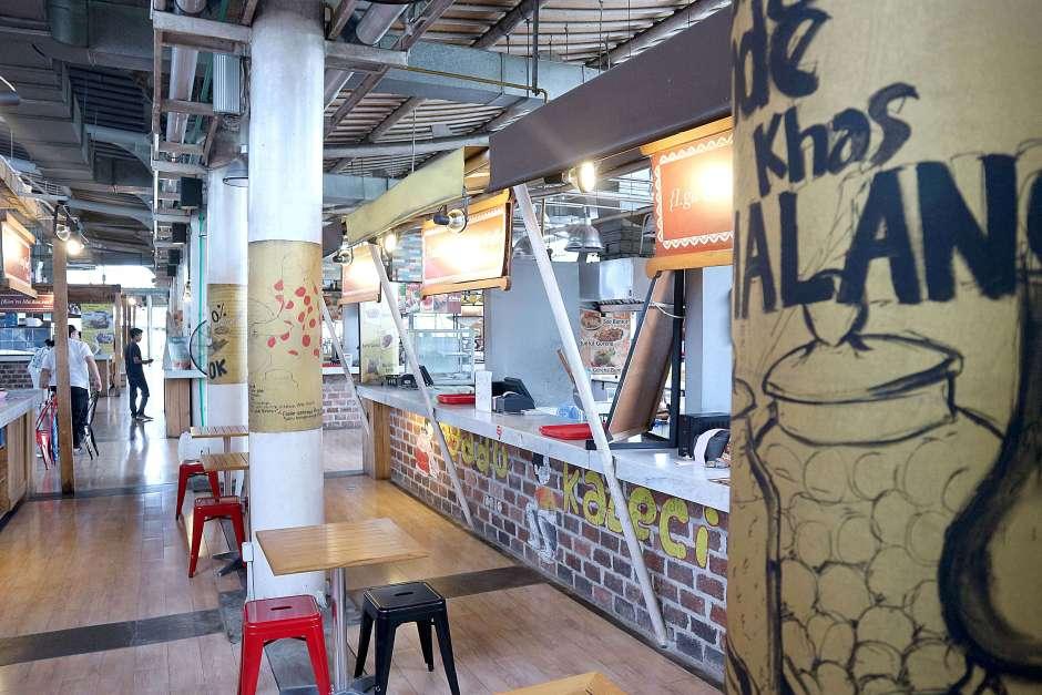 Puluhan tenant di Ah Poong via dok. DuniaMasak.com
