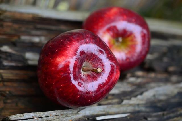Apel sebagai buah untuk membersihkan darah kotor via pixabay.com