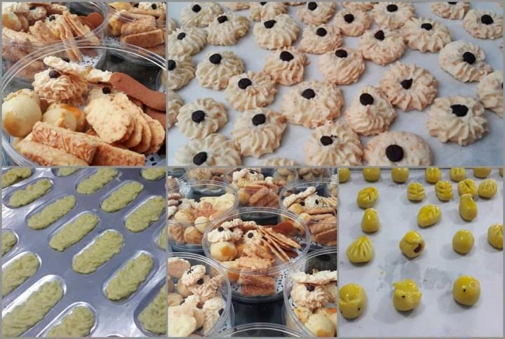 Kursus Kue Kering Klasik via IG @fatmahbahalwan