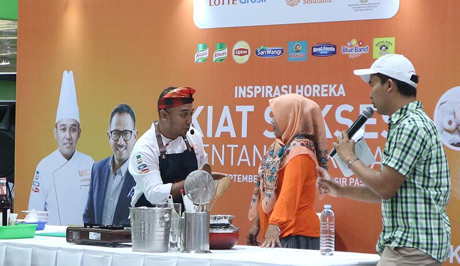 Cooking Demo oleh Chef Gungun (IG: @chefgungun_handayana)